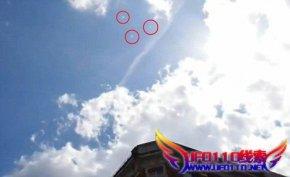伦敦上空的UFO群是真是假??