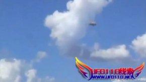 巴西上空惊现UFO,大地在震动