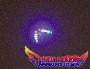 重庆北碚上空UFO悬停半小时