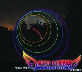 上海多地出现UFO事件