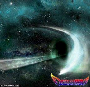 黑洞的吞噬其星球