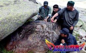 中国发现巨型陨石
