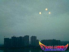 四川出现3个太阳的奇观