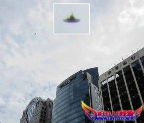 韩国首尔出现UFO(专家称不是造假)