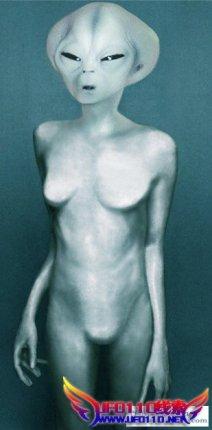 女外星人照片?