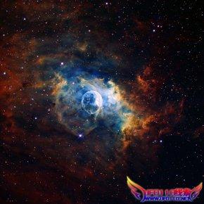 7100光年外发现直径6光年巨型宇宙气泡(图)