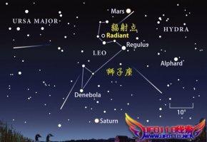"""11月""""流星雨之王""""狮子座流星雨将上演"""