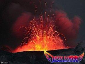 黄石公园火山再次爆发