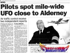 英国飞行员目击ufo解说