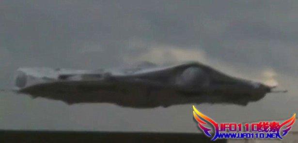 UFO降临美国工业园(视频)
