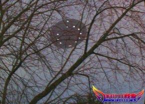 2007年1月美国威斯康星州绿湾ufo图片