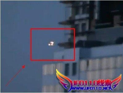 俄罗斯圣彼得堡惊现UFO