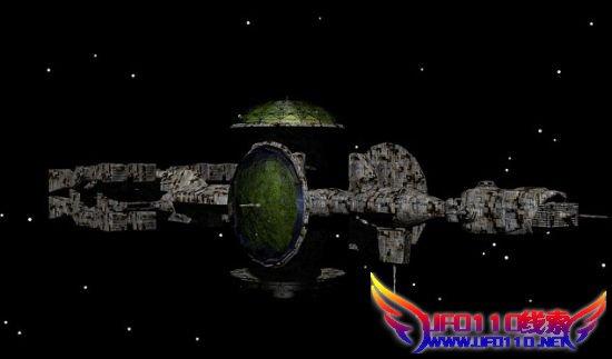 太阳附近惊现ufo战舰
