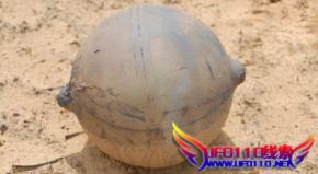 非洲纳米比亚空降神秘球体