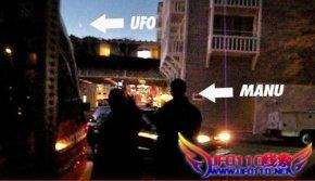 NBA球星吉诺比利直击疑似ufo