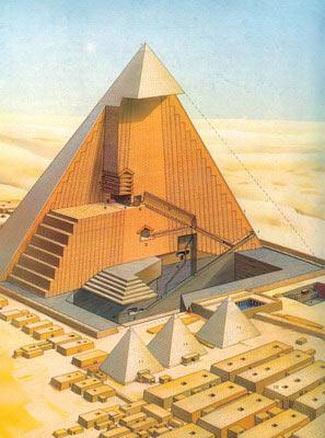 【专题】古代胡夫埃及金字塔内部之谜探秘