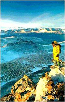 南极为什么有热水湖-范达湖