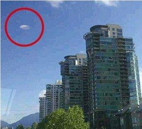 加拿大华裔女子巧拍ufo(图)
