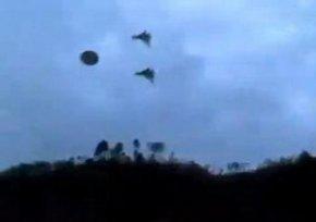 美国空军追击ufo飞碟