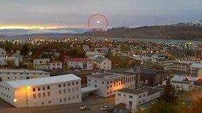 不明飞行物坠落冰岛小镇