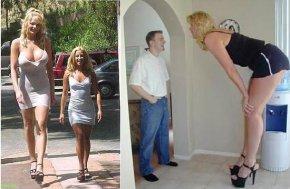 全世界最高的女人图片