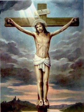 耶稣被钉十字架是什么姿势