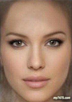 世界上最美的女人,终极虚拟美女合成