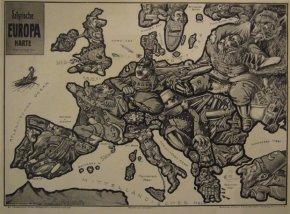 第一次世界大战的宣传地图(图)