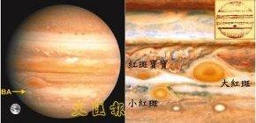 木星大红斑(桔红斑)形成