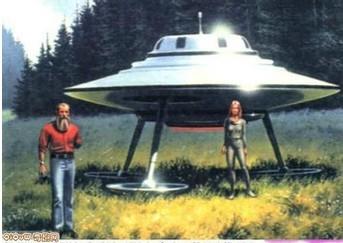 外星人一直关注着人类和地球