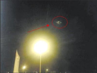 大连上空惊现ufo飞碟