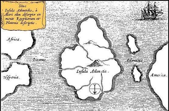 大西洲亚特兰蒂斯存在之谜