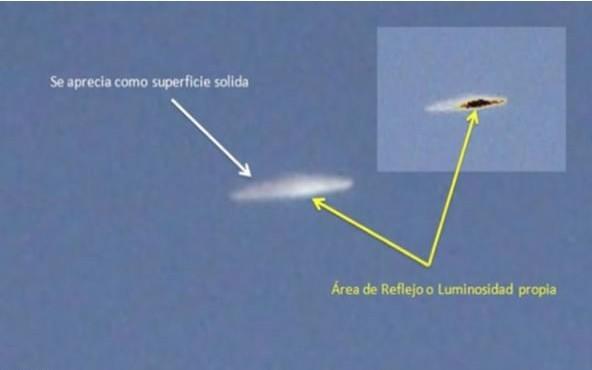 智利上空发现ufo飞碟图片 官方称不明飞行物真实