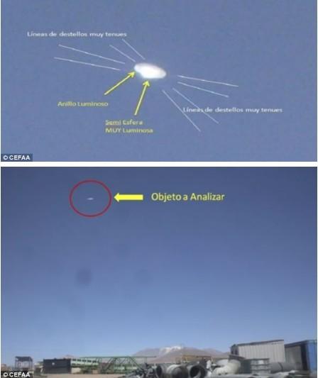 智利上空发现ufo飞碟图片