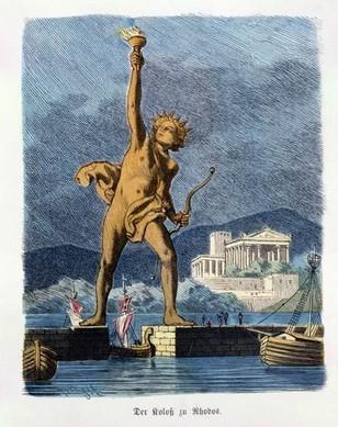 罗德岛太阳神巨像之谜