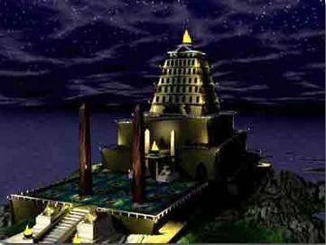 探索亚历山大灯塔建立与消失