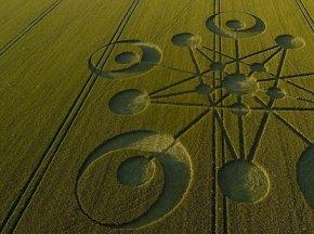 2014年英国多塞特郡首个麦田怪圈