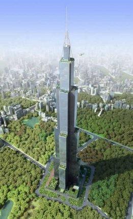 世界上最高的楼排行【组图】