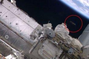 国际太空站附近惊现UFO