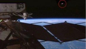 国际空间站再次惊现UFO!NASA掐断直播信号