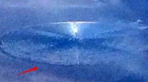 乘客飞过51区意外拍到UFO