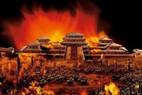 阿房宫是谁烧的_阿房宫焚毁之谜