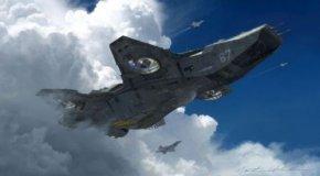 攻击UFO惊魂一幕 飞行员差点被UFO吓尿