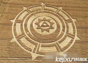 麦田怪圈是外星人给地球的神秘信号