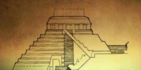 玛雅金字塔下发现新通道—通往阴间