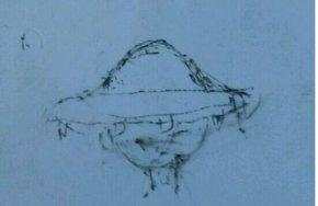 他真的看到了UFO!这是我亲听一位朋友的自述