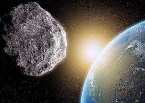 陨石与地球擦肩而过,地球刚刚逃过一劫