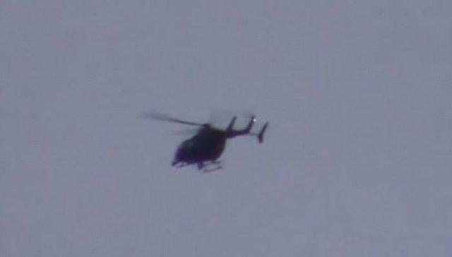英国上空出现UFO外星人, 官方出动直升机追捕!