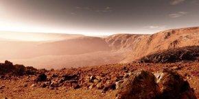 火星上存在外星人的证据