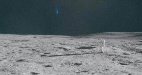 NASA最新公布的月球照片里出现了许多不明物体
